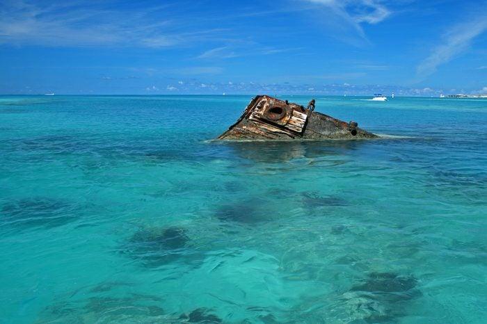 Tropical Shipwreck