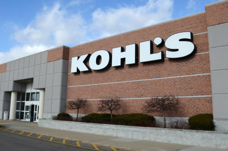 Kohl's, whose Canton location is shown on December 31, 2014, has over 1,000 stores.