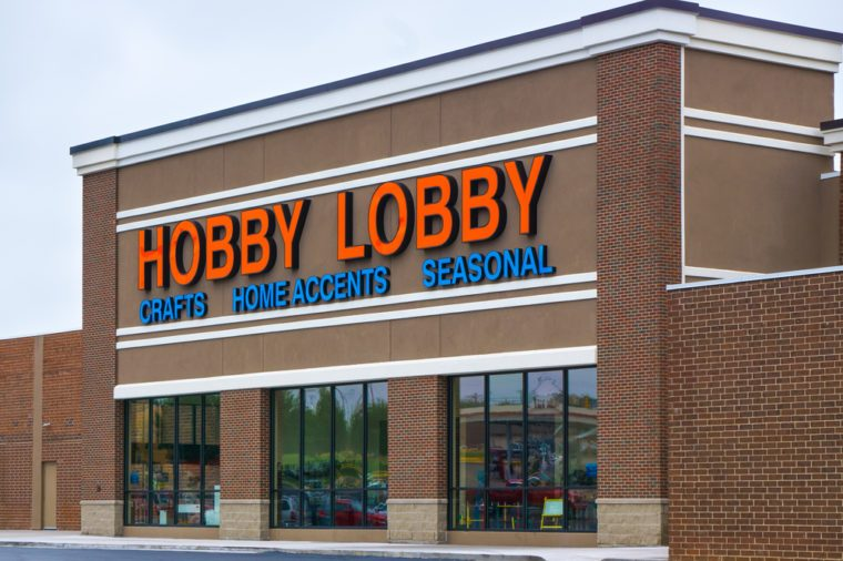 ken woltershutterstockhobby lobby has everything you could possibly ever want to give your home the design upgrade it desperately needs - Hobby Lobby After Christmas Sale