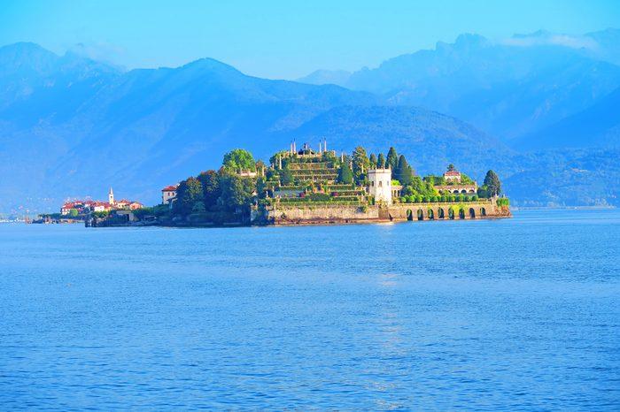 Isola Bella is one of the Borromean Islands of Lago Maggiore in Piedmont, north Italy