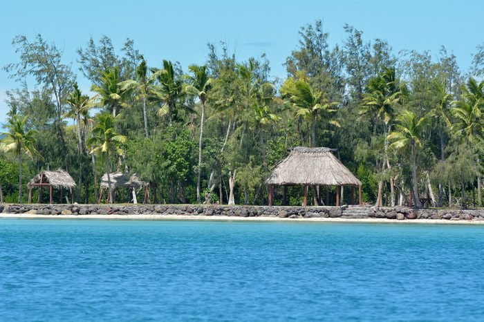 Nanuya Levu island in the Yasawa Group in Fiji. It is the site of the Turtle Island Resort for the rich and famous and also the set location for the romance adventure film The Blue Lagoon (1980).