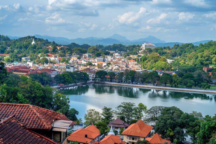 Cảnh đẹp của Kandy ở Sri Lanka