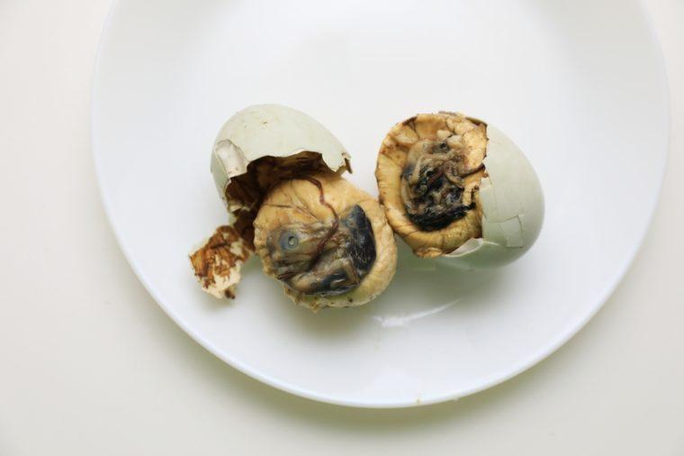 Balut (Duck Embryo)