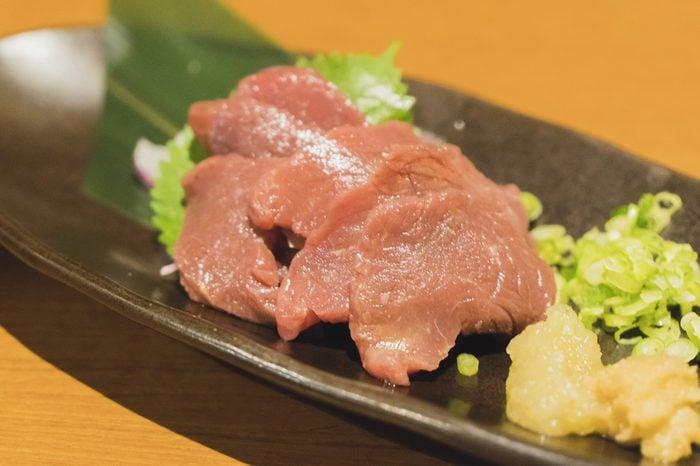 Cuisine : Japanese food Horsemeat