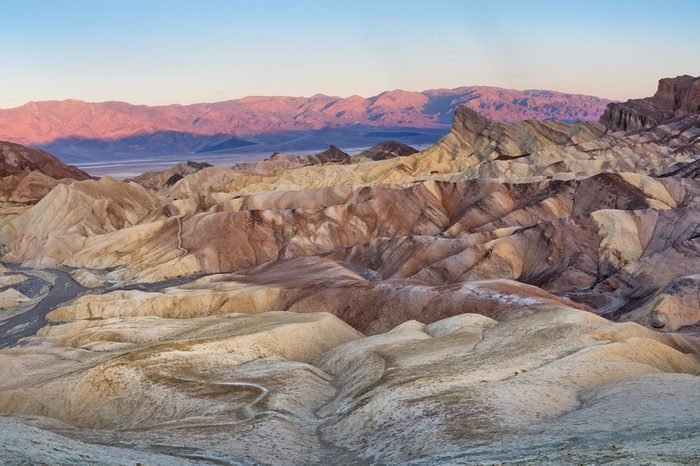 Zabriskie Point in Death Valley National Park in California, United States