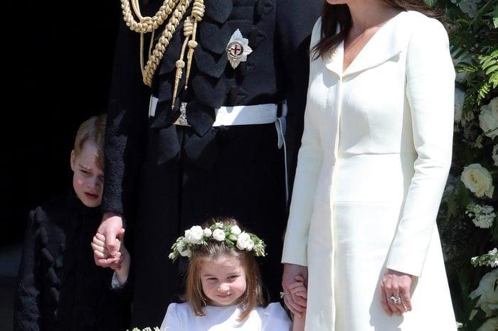 Prince William, Catherine Duchess of Cambridge, Prince George and Princess Charlotte