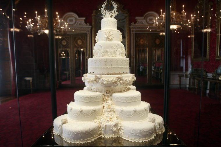 The Duke and Duchess of Cambridge's royal wedding cake