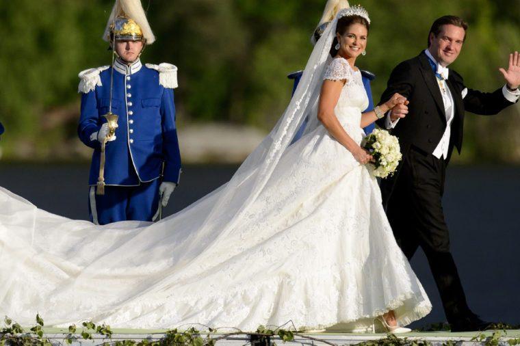 The wedding of Princess Madeleine and Chris O'Neill, Stockholm, Sweden - 08 Jun 2013