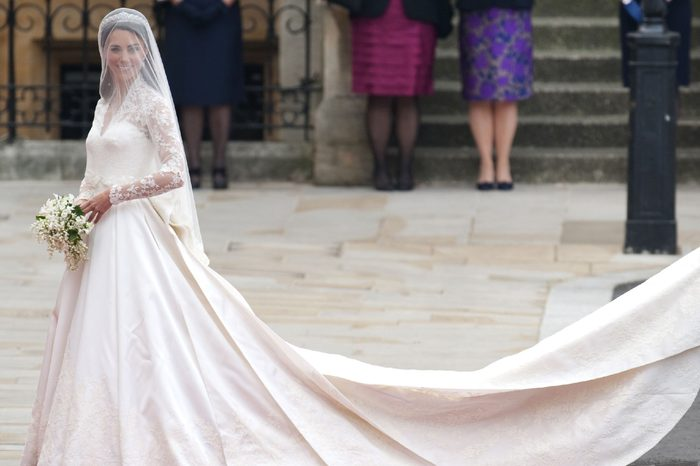 the Royal Wedding of Prince William to Catherine Middleton at Westminster Abbey On April 29 2011 in London England
