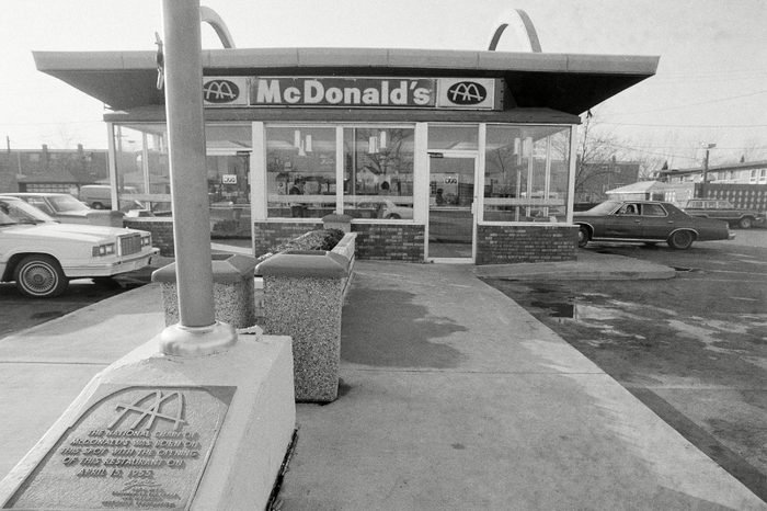 Watchf Associated Press Domestic News Finance Illinois United States APHS ORIGINAL MCDONALDS 1982 Ray Kroc's original McDonald's in Des Plaines, Ill., is seen, . The first McDonald's opened here in April 1955, and will be closing next year to move to a modernized new store across the street