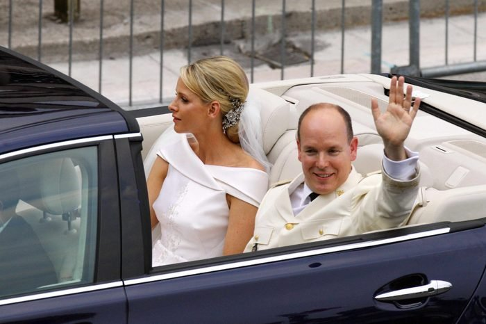 Wedding of Prince Albert II of Monaco and Charlene Wittstock, Religious Ceremony, Monaco - 02 Jul 2011