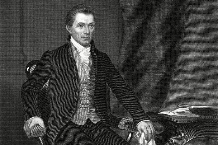 James Monroe (1758-1831) 5th President of the United States (1817-1825) circa 1820