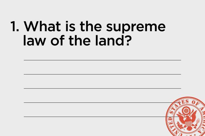 supreme law