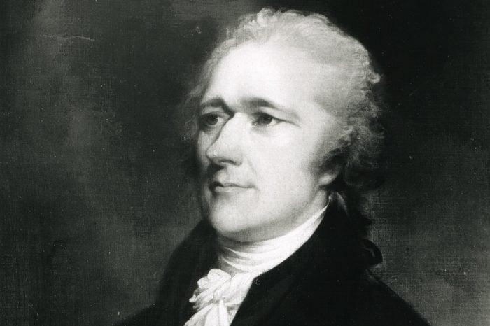 Alexander Hamilton By John Trumbull