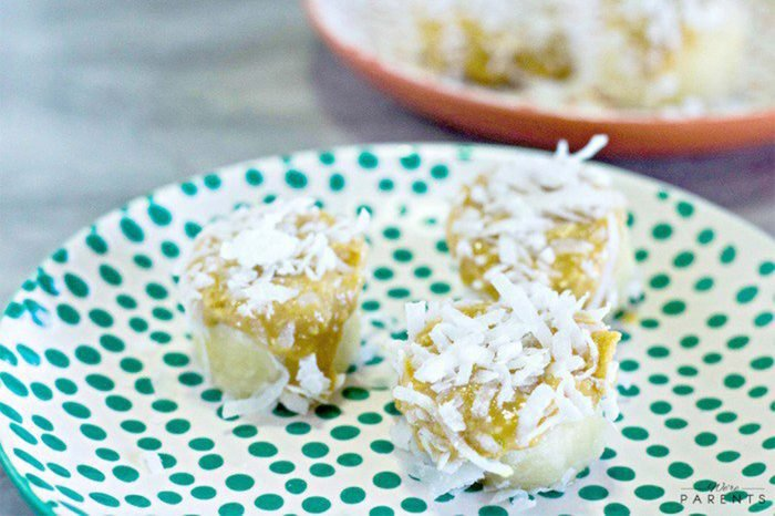 tropical nut slices