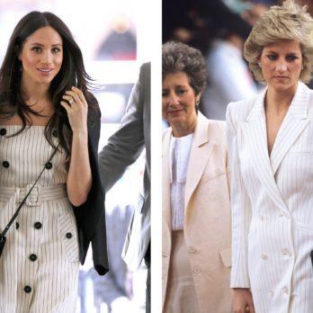 9 Times Meghan Markle Channeled Princess Diana