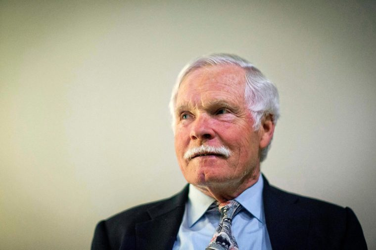 Ted Turner Ted Turner sits for a portrait in Atlanta. Turner told The Associated Press in a recent interview that when Turner Field is demolished in four years, he hopes the city of Atlanta could turn the vacant area into green space. In November, the Atlanta Braves announced they are moving from Turner Field into a new 42,000-seat stadium complex in Cobb County in 2017. The old stadium, which was named after the 75-year-old media mogul, will be torn down after the Braves leave for their location in the suburbs. Turner, the former owner of the Braves, said he is still trying to fathom the move