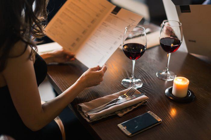 restaurant date wine. Romantic ideas