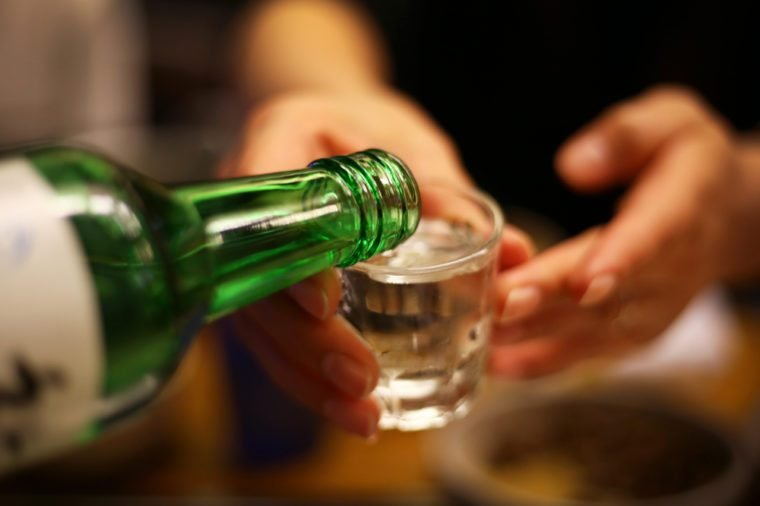 Korean alcoholic