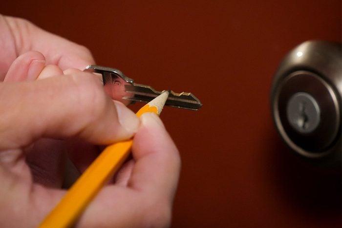 pencil key
