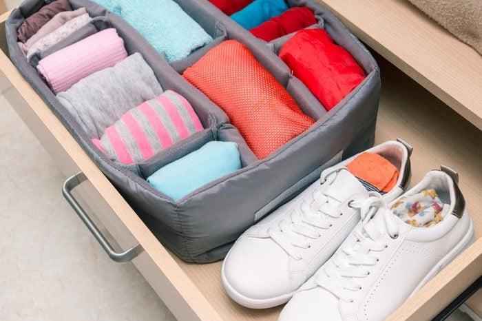 wardrobe drawer organizer