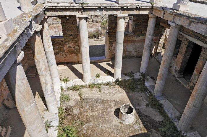 House of Hermes, Delos, Greece
