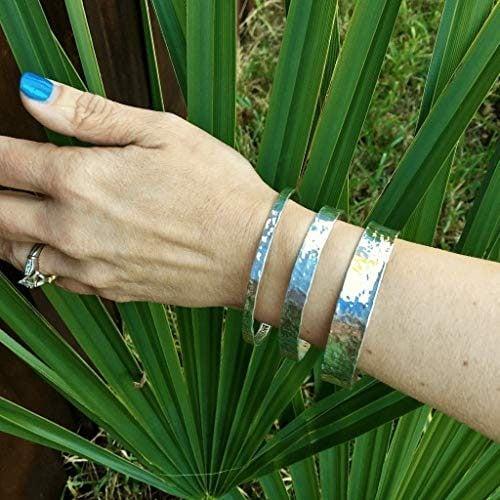 Backyard Silversmiths Silver Bangle Bracelets