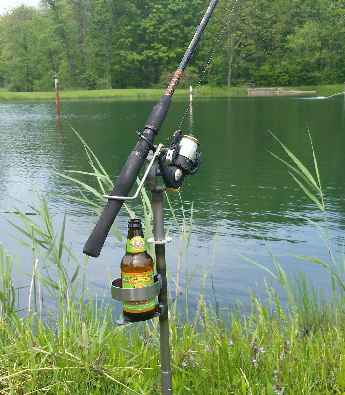 Roto Metals Fishing Rod Holder