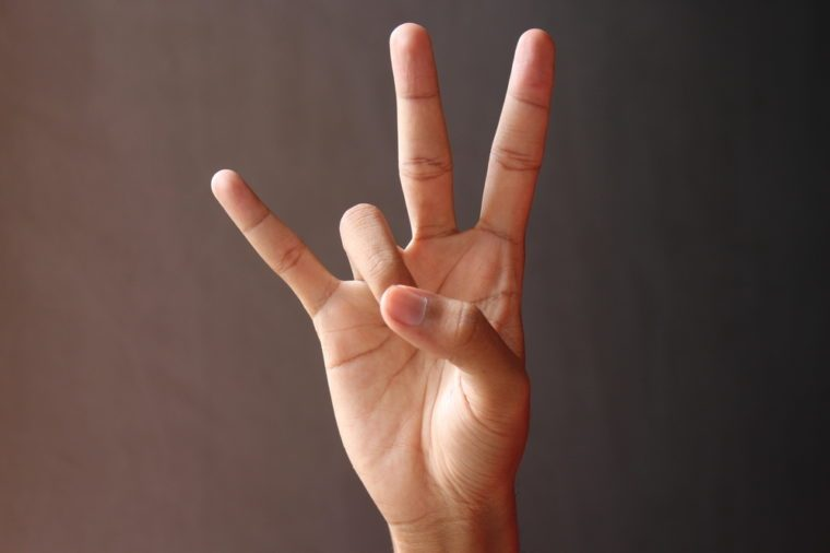 Deaf hand code