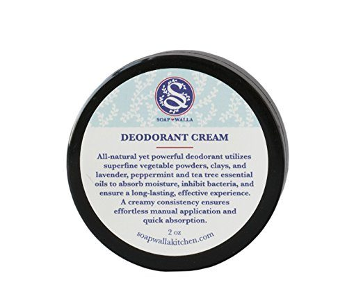 Soapwalla Vegan Deodorant Cream