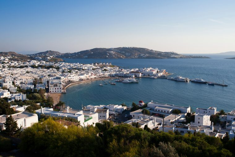 Mykonos Town, Cyclades, Greece