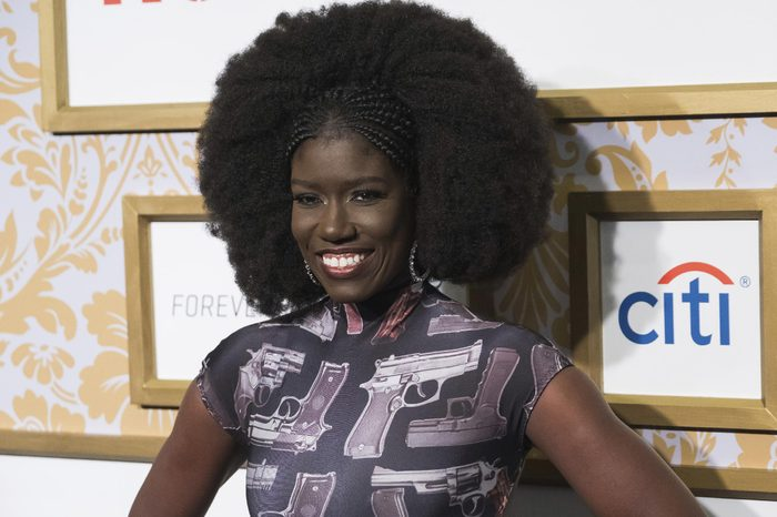 Bozoma Saint John attends the Roc Nation pre-Grammy brunch at One World Trade Center, in New York