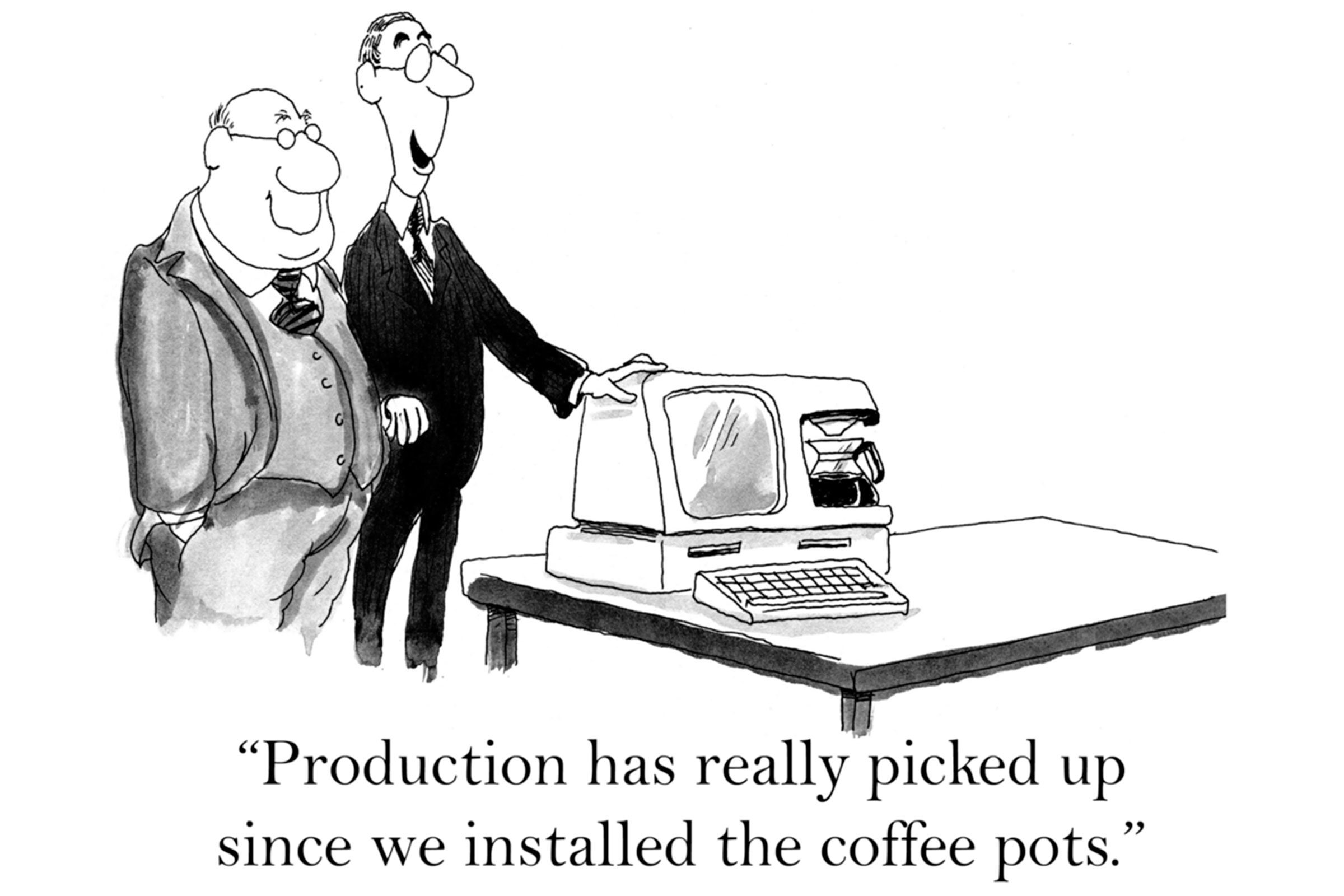 computer coffee