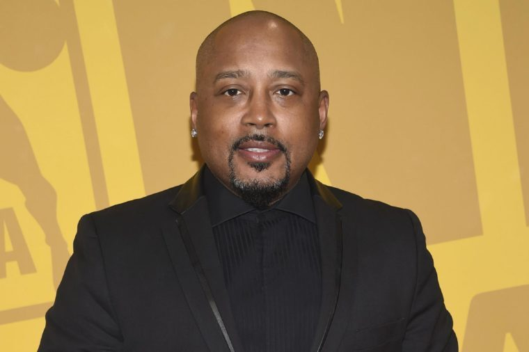 Daymond John arrives at the NBA Awards at Basketball City at Pier 36, in New York
