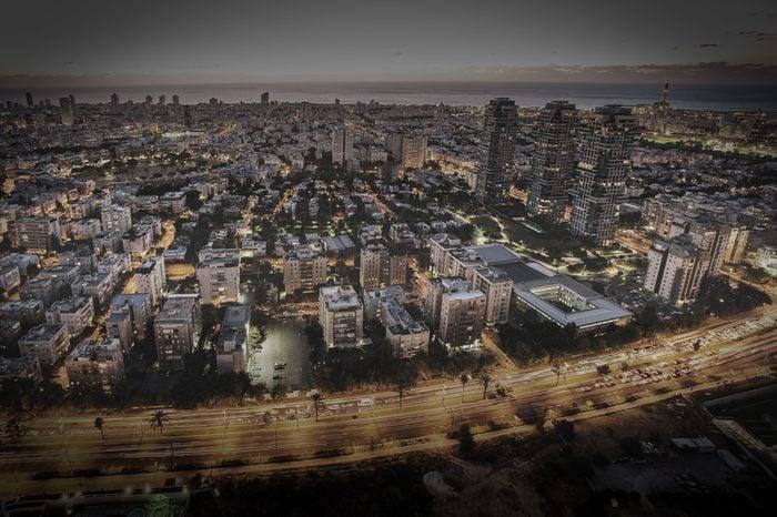 city view Israel.