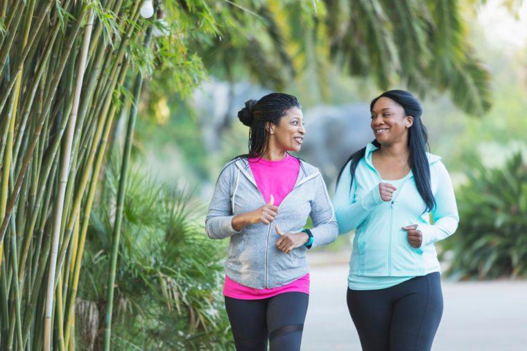 jogging friends