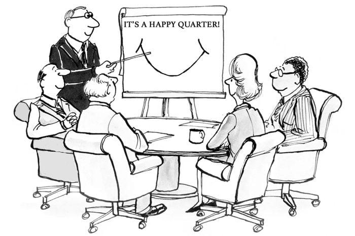 Happy quarter