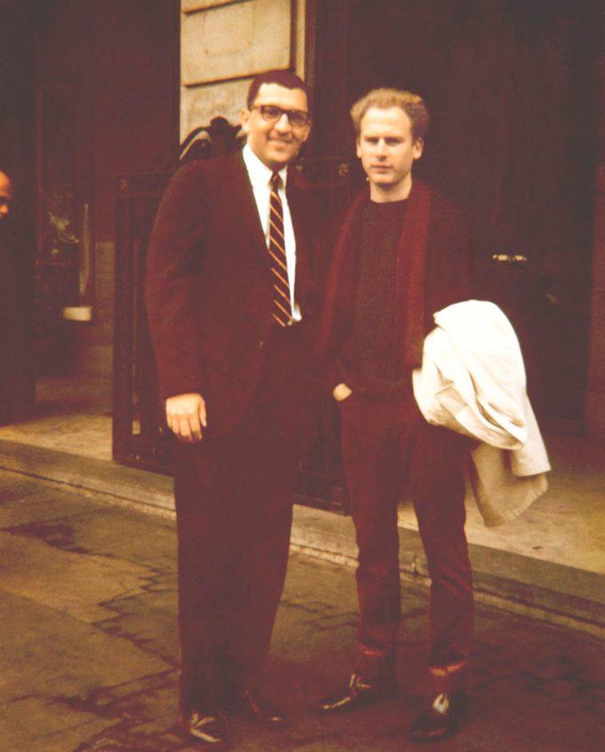 Sanford Greenberg and Art Garfunkel