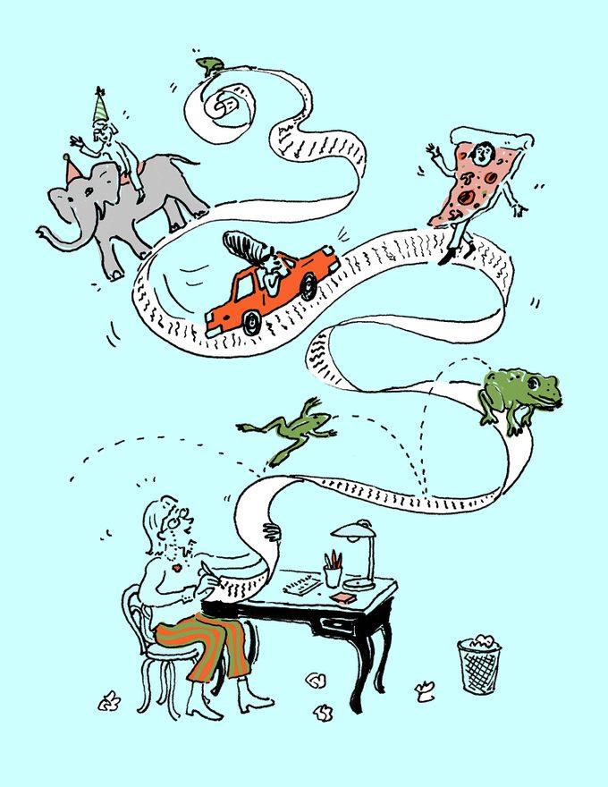 Illustration of memoirs
