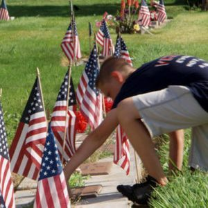 The Powerful Way This 12-Year-Old Boy Honors Our Veterans Every Week