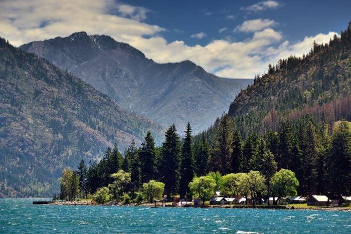 Lake Chelan and the Okanogan-Wenatchee National Forest