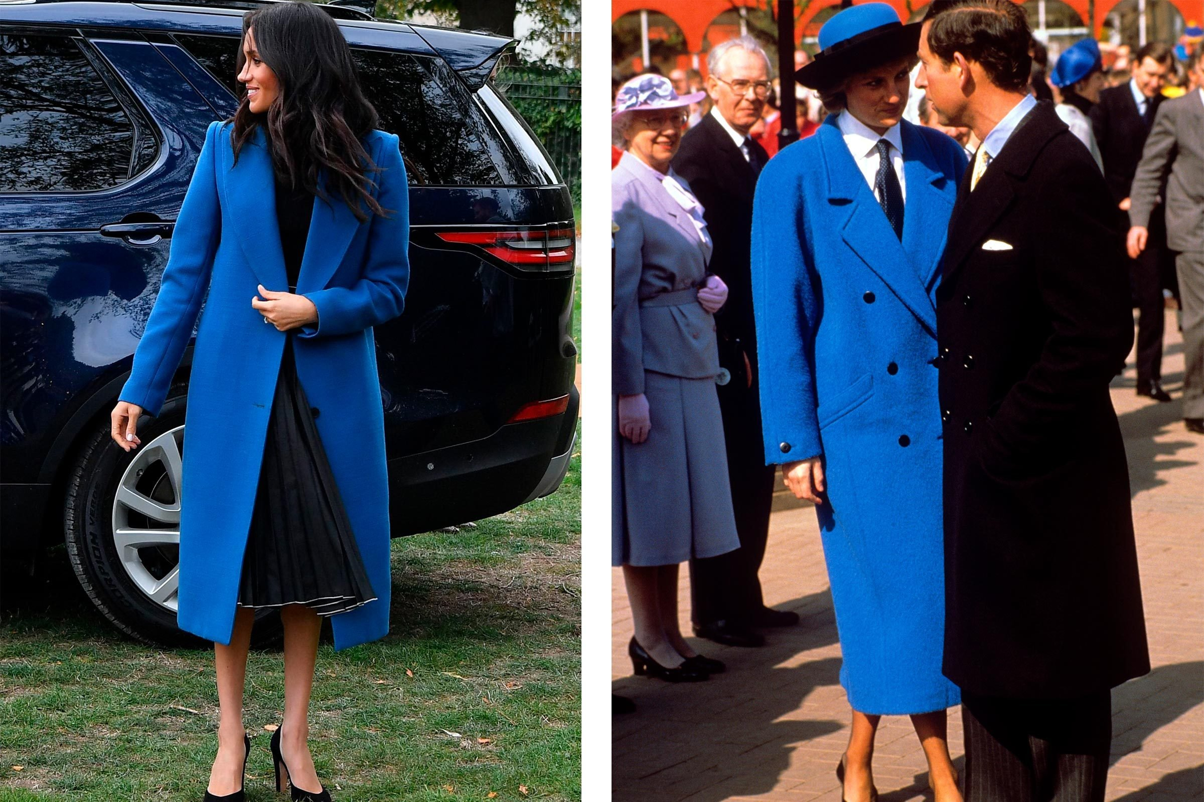 Meghan Markle Princess Diana outfits