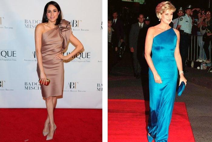 Meghan Markle Princess Diana outfits