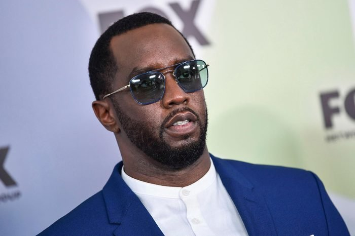 Sean Combs attends the Fox Networks Group 2018 programming presentation after party at Wollman Rink in Central Park, in New York