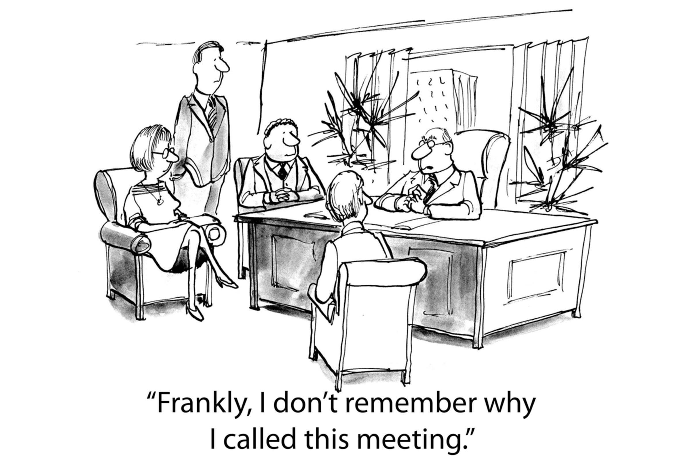 Pointless meeting