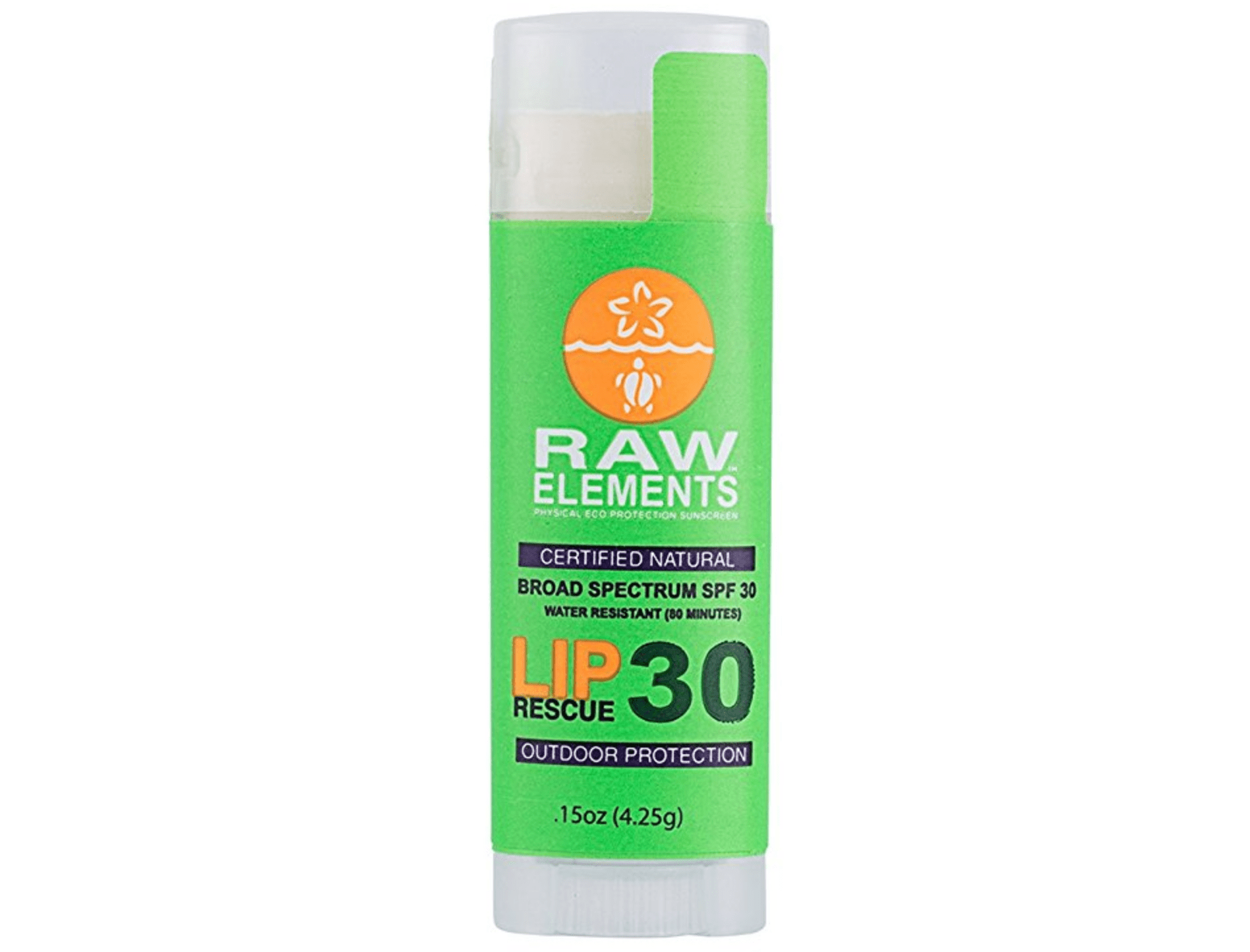 RAW Elements sunscreen chapstick