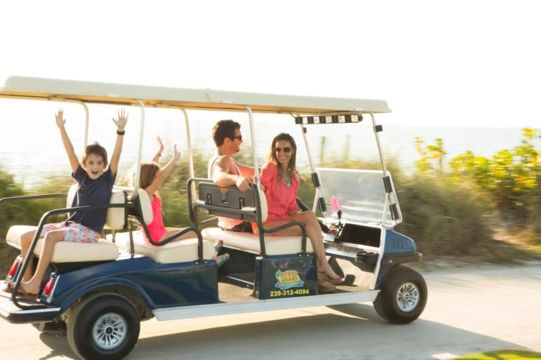 South Seas Island Resort Family Golf Cart-2