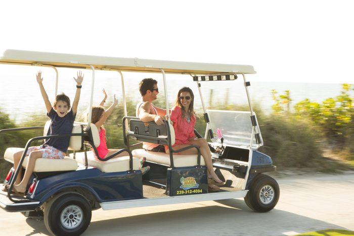 South Seas Island Resort Family Golf Cart-2