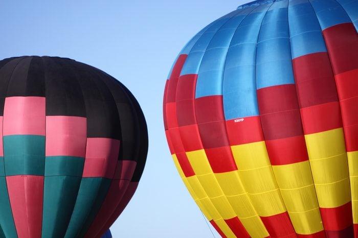 Hot balloon in Albuquerque, New Mexico