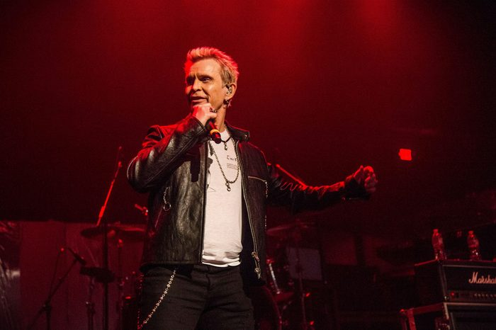 """Billy Idol """"Above Ground"""" Benefit Concert, Los Angeles, USA - 16 Apr 2018"""